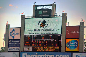 Beez Foundation Somerset Patriot's Jumbotron